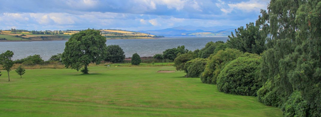 View over third green