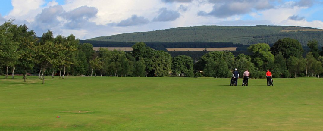 Fourth Hole - Achintoul